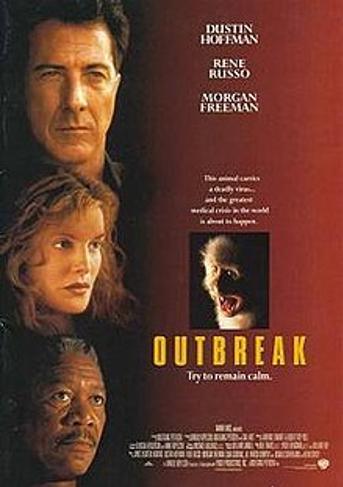 由達斯汀·霍夫曼(Dustin Hoffman) 和蕾妮·羅素(Rene Russo)主演的《危機總動員》 ( Outbreak 1995) 的情節就是受到彼得史在1989年主持的一項保密行動的啟發。